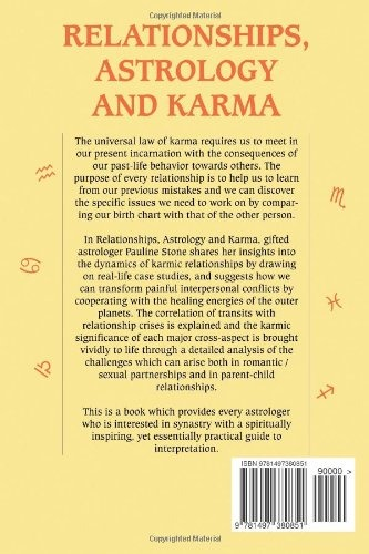 Relationships, Astrology and Karma Back Cover